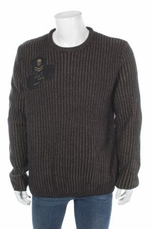 Ανδρικό πουλόβερ Yfl Reserved, Μέγεθος L, Χρώμα Πράσινο, Ακρυλικό, Τιμή 30,41€