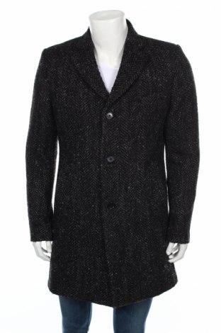 Мъжко палто J.lindeberg, Размер L, Цвят Сив, Вълна, Цена 353,81лв.