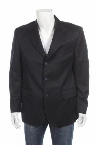 Ανδρικό σακάκι Marlane, Μέγεθος L, Χρώμα Μπλέ, Μαλλί, Τιμή 35,52€