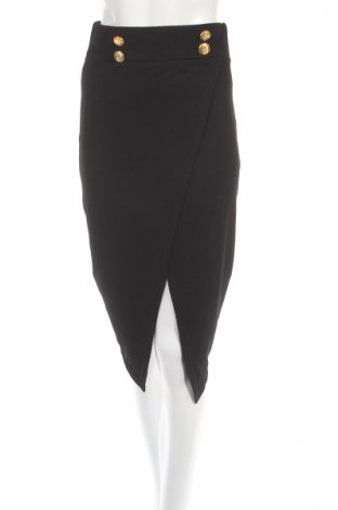 Пола Boohoo, Размер S, Цвят Черен, 95% полиестер, 5% еластан, Цена 12,42лв.