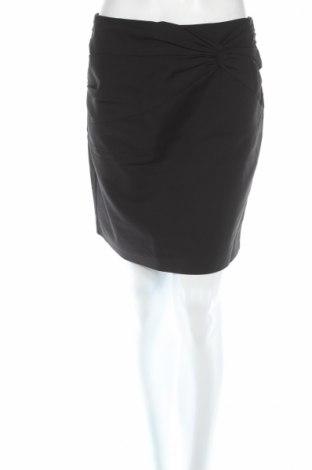 Φούστα H&M, Μέγεθος M, Χρώμα Μαύρο, 49% βαμβάκι, 48% πολυαμίδη, 3% ελαστάνη, Τιμή 4,62€