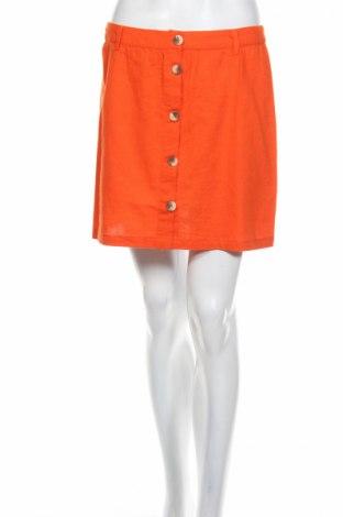 Пола V by Very, Размер M, Цвят Оранжев, 80% памук, 20% лен, Цена 19,78лв.
