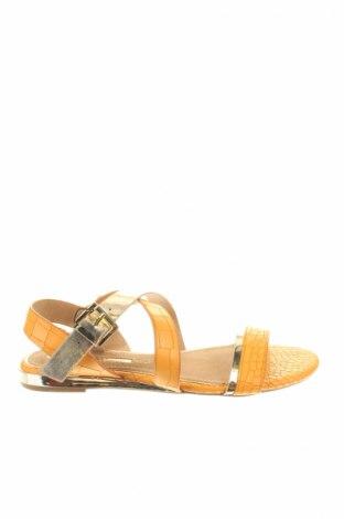 Сандали Maria mare, Размер 38, Цвят Жълт, Еко кожа, Цена 25,92лв.