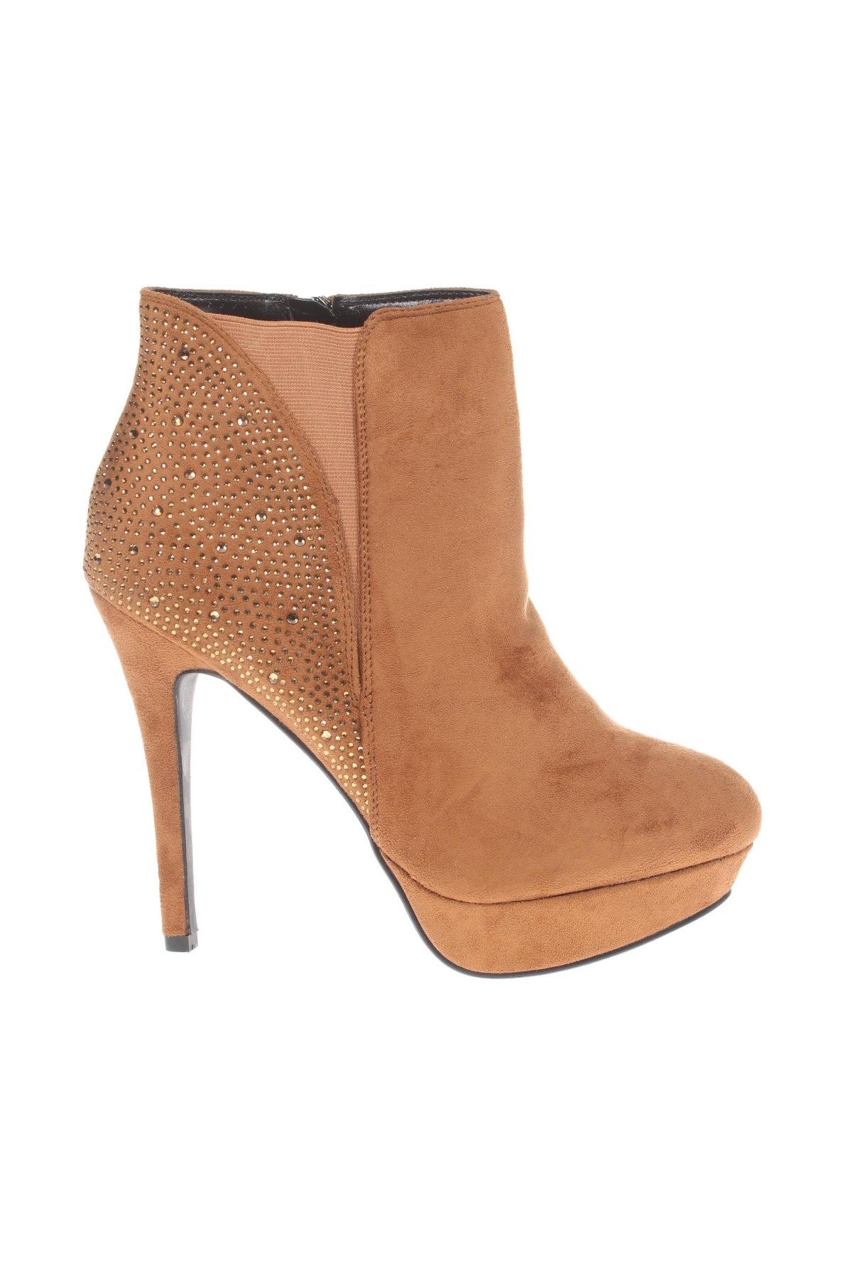 Дамски обувки Manoukian, Размер 41, Цвят Кафяв, Текстил, Цена 17,85лв.