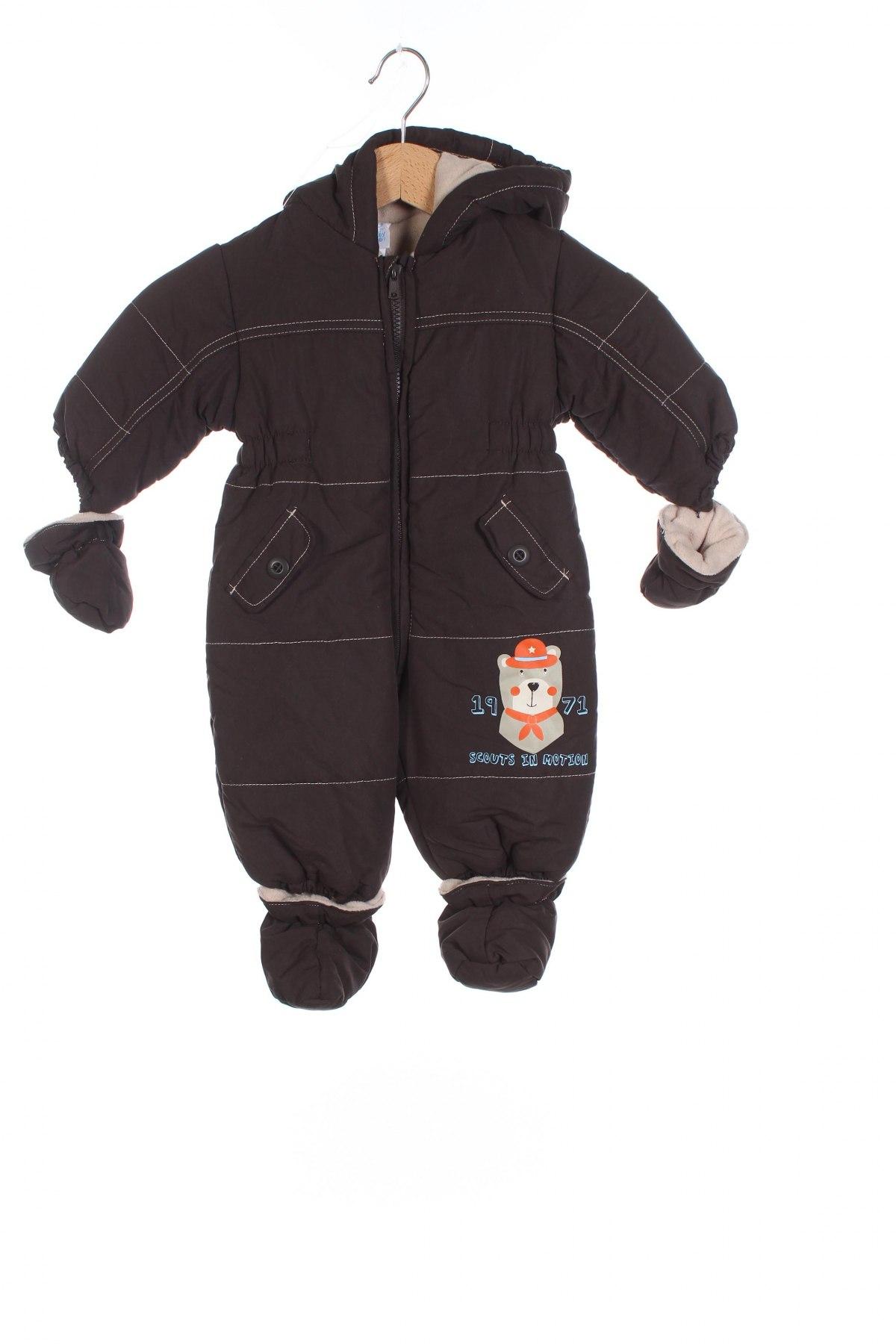 Детски космонавт Baby Club, Размер 3-6m/ 62-68 см, Цвят Кафяв, Полиестер, Цена 41,16лв.