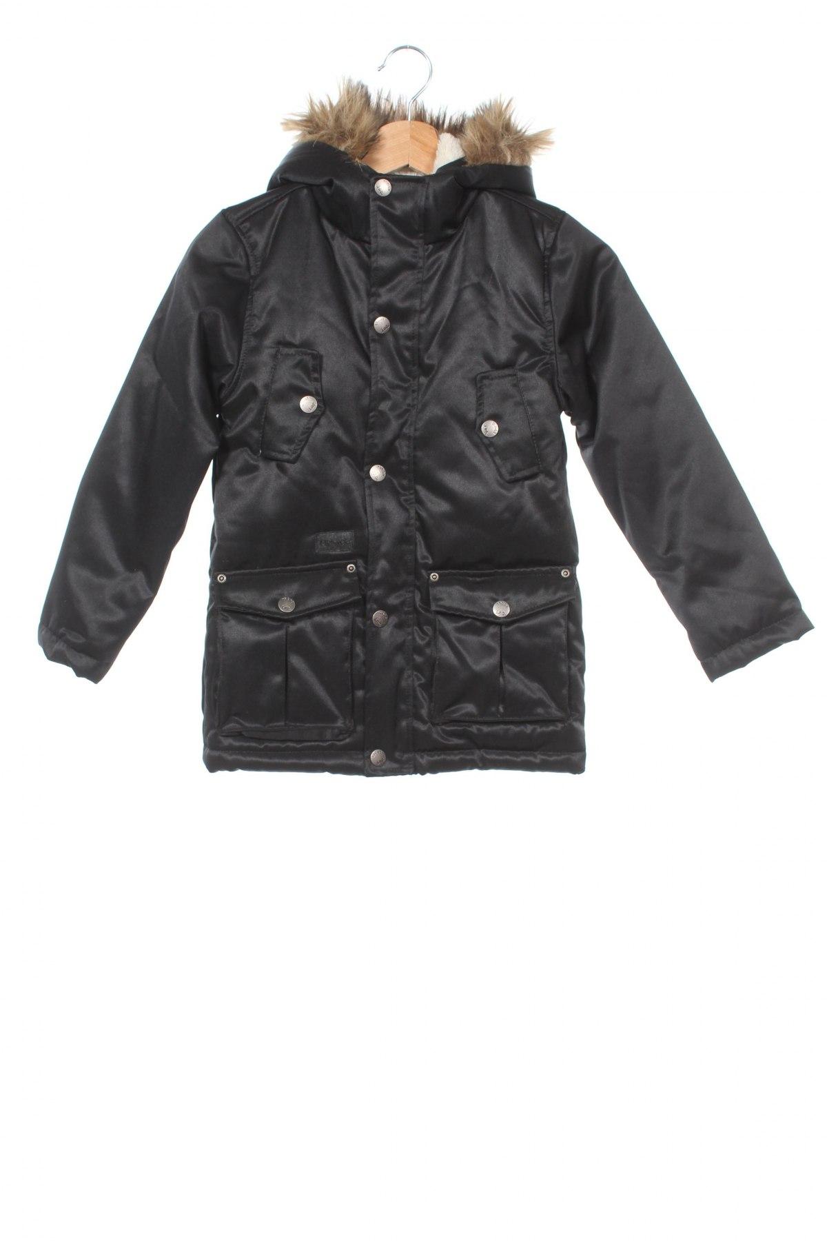 Детско яке Tony Boy, Размер 8-9y/ 134-140 см, Цвят Черен, 81% полиестер, 19% памук, Цена 42,90лв.