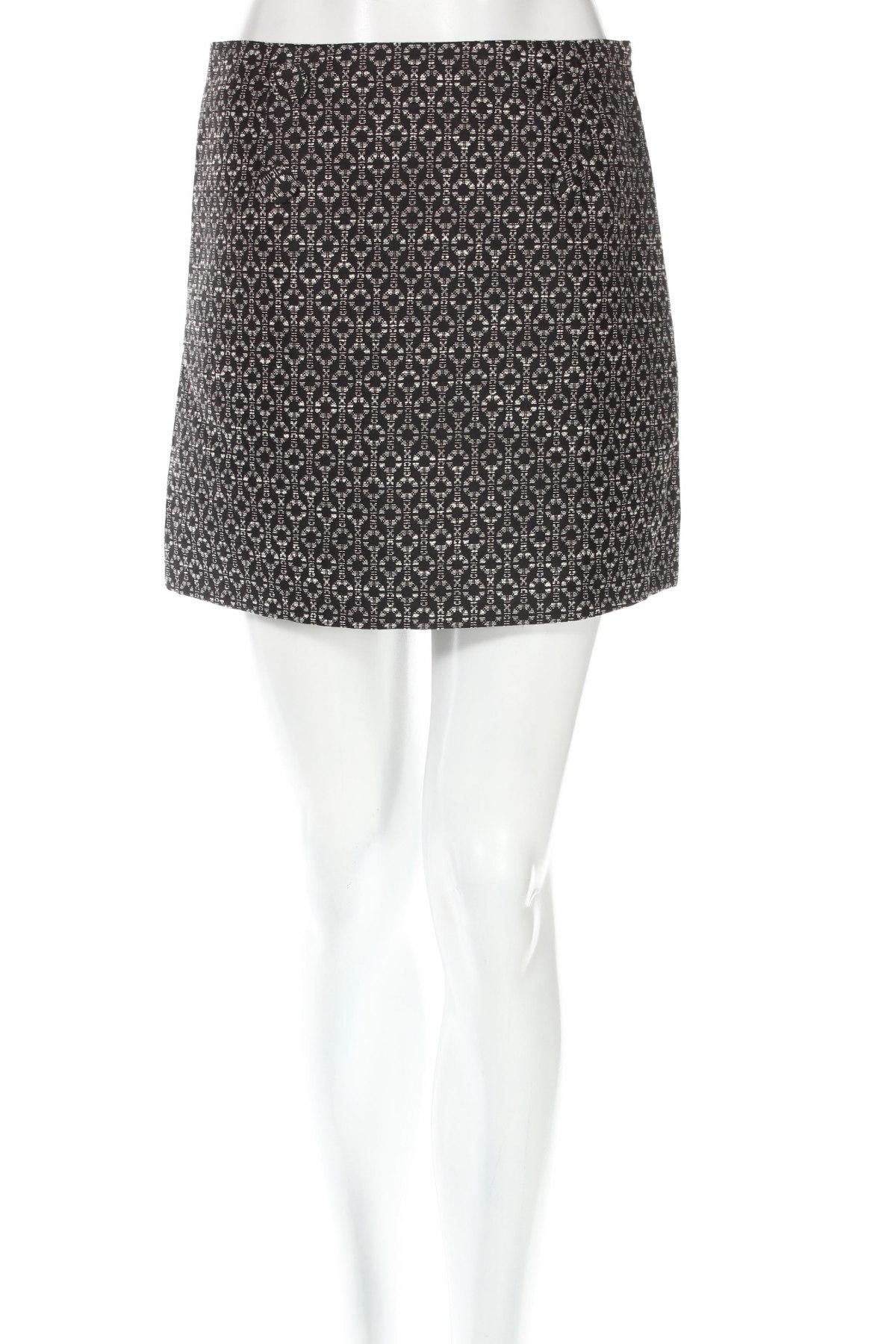 Φούστα La Redoute, Μέγεθος S, Χρώμα Μαύρο, 64% πολυεστέρας, 36% βαμβάκι, Τιμή 4,16€