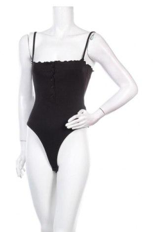 Дамска блуза - боди Missguided, Размер M, Цвят Черен, 50% полиестер, 45% памук, 5% еластан, Цена 27,00лв.