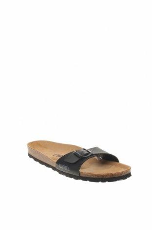 Γυναικείες παντόφλες Bayton, Μέγεθος 44, Χρώμα Μαύρο, Δερματίνη, Τιμή 24,32€