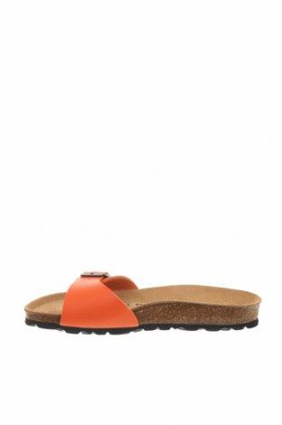 Чехли Bayton, Размер 36, Цвят Оранжев, Еко кожа, Цена 35,60лв.