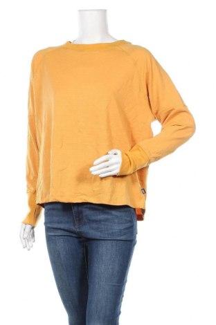Дамска блуза Body Flirt, Размер L, Цвят Жълт, 94% полиестер, 6% еластан, Цена 16,80лв.