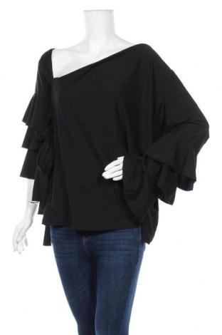 Дамска блуза Body Flirt, Размер XXL, Цвят Черен, 95% полиестер, 5% еластан, Цена 22,05лв.