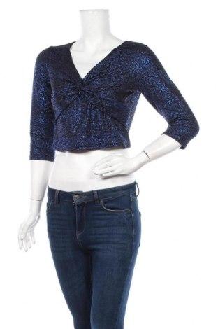 Дамска блуза Body Flirt, Размер S, Цвят Син, 95% полиестер, 5% еластан, Цена 19,95лв.