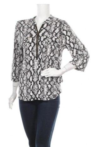 Дамска блуза Calvin Klein, Размер L, Цвят Черен, 95% вискоза, 5% еластан, Цена 24,00лв.