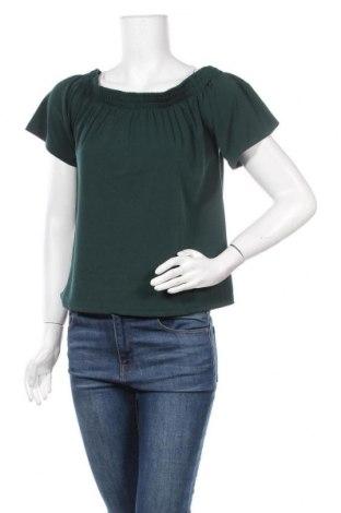 Дамска блуза Catwalk Junkie, Размер S, Цвят Зелен, 96% полиестер, 4% еластан, Цена 12,02лв.