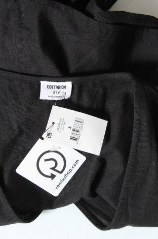 Дамска риза Cotton On, Размер S, Цвят Черен, 90% памук, 10% лен, Цена 27,74лв.