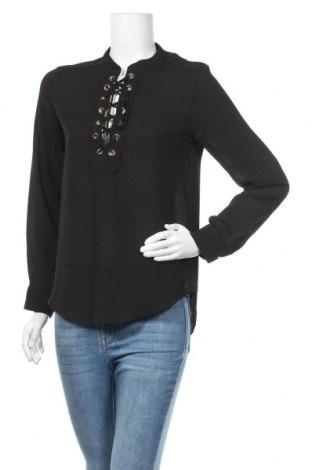 Дамска блуза Drole De Copine, Размер M, Цвят Черен, Полиестер, Цена 8,51лв.