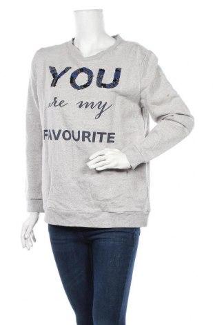 Дамска блуза Edc By Esprit, Размер L, Цвят Сив, 96% памук, 4% еластан, Цена 11,34лв.
