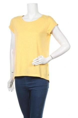 Дамска тениска Esprit, Размер XS, Цвят Жълт, Памук, Цена 25,50лв.
