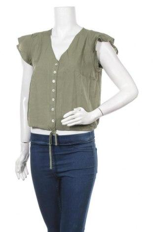 Дамска блуза Hailys, Размер S, Цвят Зелен, Цена 24,00лв.