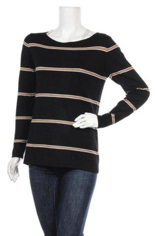 Γυναικεία μπλούζα Hallhuber, Μέγεθος L, Χρώμα Μαύρο, 80% βισκόζη, 20% πολυαμίδη, Τιμή 19,74€