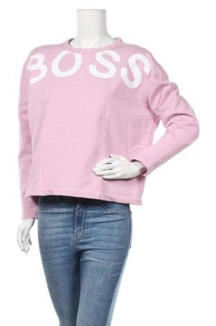 Дамска блуза Hugo Boss, Размер L, Цвят Лилав, Памук, Цена 141,75лв.