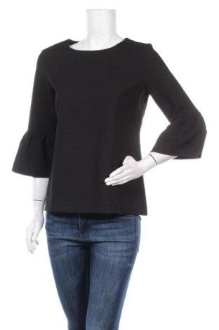 Дамска блуза Lawrence Grey, Размер S, Цвят Черен, 63% полиестер, 31% вискоза, 6% еластан, Цена 33,92лв.