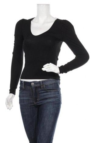 Дамска блуза Miss Selfridge, Размер XS, Цвят Черен, 93% памук, 7% еластан, Цена 36,75лв.