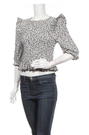 Дамска блуза Miss Selfridge, Размер L, Цвят Бял, 97% полиестер, 3% еластан, Цена 33,00лв.