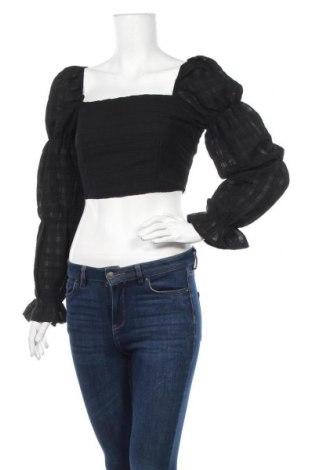 Дамска блуза Missguided, Размер S, Цвят Черен, Полиестер, Цена 21,00лв.