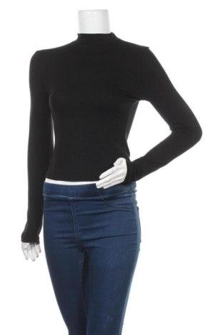 Дамска блуза Missguided, Размер M, Цвят Черен, 96% вискоза, 4% еластан, Цена 25,50лв.
