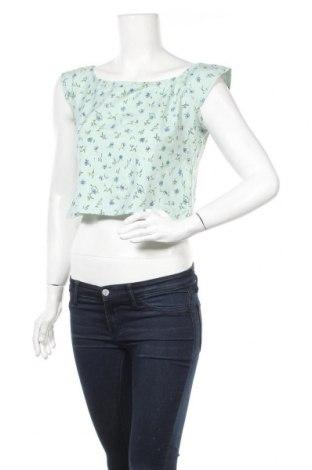 Дамска блуза Motel, Размер XL, Цвят Зелен, 95% памук, 5% еластан, Цена 5,98лв.
