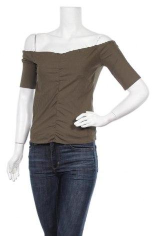 Γυναικεία μπλούζα Noisy May, Μέγεθος M, Χρώμα Πράσινο, 90% πολυεστέρας, 10% ελαστάνη, Τιμή 4,90€