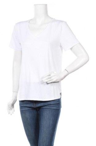 Дамска тениска ONLY, Размер M, Цвят Бял, 70% модал, 30% полиестер, Цена 21,06лв.