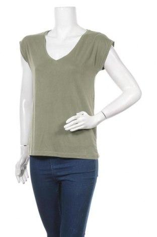 Γυναικεία μπλούζα Pieces, Μέγεθος M, Χρώμα Πράσινο, 76% μοντάλ, 24% πολυεστέρας, Τιμή 4,27€