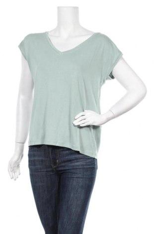 Γυναικεία μπλούζα Pieces, Μέγεθος M, Χρώμα Πράσινο, 76% μοντάλ, 24% πολυεστέρας, Τιμή 4,29€