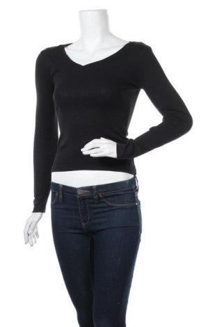 Γυναικεία μπλούζα Pimkie, Μέγεθος XS, Χρώμα Μαύρο, Βαμβάκι, Τιμή 10,39€