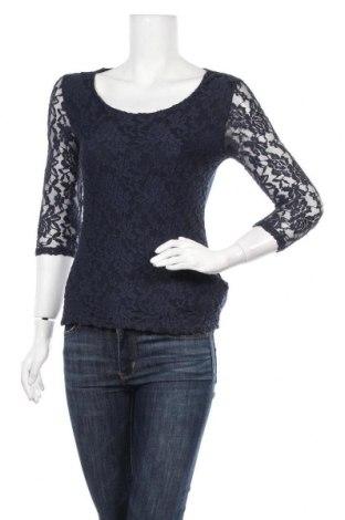 Γυναικεία μπλούζα Pimkie, Μέγεθος M, Χρώμα Μπλέ, 95% πολυαμίδη, 5% ελαστάνη, Τιμή 11,69€