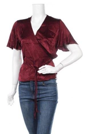 Дамска блуза Soft Rebels, Размер M, Цвят Червен, Вискоза, Цена 39,50лв.
