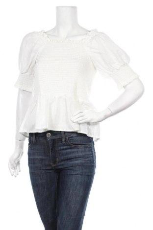Дамска блуза Soft Rebels, Размер XL, Цвят Бял, Памук, Цена 34,50лв.