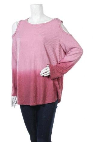 Γυναικεία μπλούζα Style & Co, Μέγεθος XL, Χρώμα Ρόζ , 66% πολυεστέρας, 33% βισκόζη, 1% ελαστάνη, Τιμή 11,04€