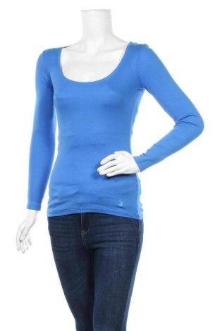 Дамска блуза Tally Weijl, Размер XS, Цвят Син, Памук, Цена 17,85лв.