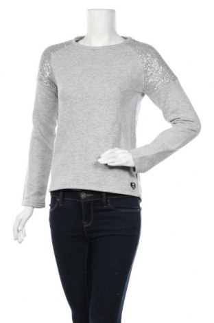 Γυναικεία μπλούζα Tom Tailor, Μέγεθος L, Χρώμα Γκρί, 64% βαμβάκι, 33% πολυεστέρας, 3% βισκόζη, Τιμή 8,31€