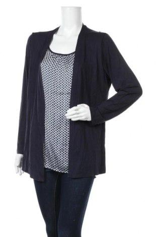 Дамска блуза Your Sixth Sense, Размер XL, Цвят Син, 96% вискоза, 4% еластан, Цена 18,48лв.