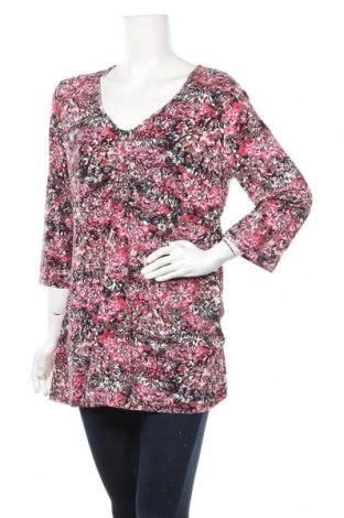 Дамска блуза Your Sixth Sense, Размер XXL, Цвят Многоцветен, 94% вискоза, 6% еластан, Цена 18,95лв.