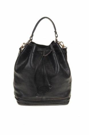 Дамска чанта, Цвят Черен, Естествена кожа, Цена 33,27лв.