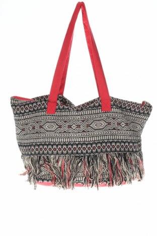 Γυναικεία τσάντα Camaieu, Χρώμα Πολύχρωμο, Κλωστοϋφαντουργικά προϊόντα, Τιμή 22,20€