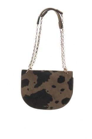 Γυναικεία τσάντα Parfois, Χρώμα Πράσινο, Κλωστοϋφαντουργικά προϊόντα, φυσική τρίχα, Τιμή 25,34€