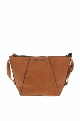 Дамска чанта Primark, Цвят Кафяв, Еко кожа, Цена 19,64лв.
