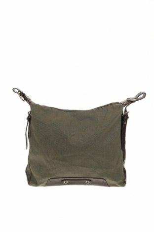 Дамска чанта TCM, Цвят Зелен, Текстил, Цена 24,99лв.